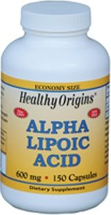 Alpha Lipoic Acid 600mg (150 capsules) Healthy Origins